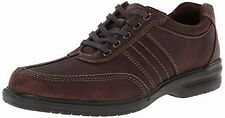 New Mens Clarks 26103266 Sherwin Way Casual Oxfords - Dark Brown (A17)