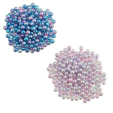 400Pcs 4mm Gorgeous Imitation Pearl Loose Beads DIY Jewelry Making Findings