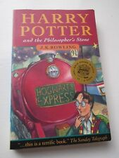 Harry Potter and the Philosopher's Stone First Edition 30th Print (PB 1997)