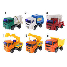 1:64 Dump/Crane/Excavator/Ladder Fire/Garbage/Cement Mixer Truck Diecast Model