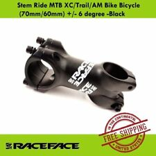Race Face Ride XC Stem (70mm/60mm) +/- 6 degree -MTB/Trail/AM Bike Bicycle Stem