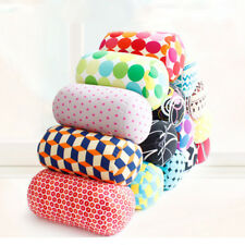 Roll Pillow Microbead Cushion Soft Home Car Seat Head Rest Neck Support Relax