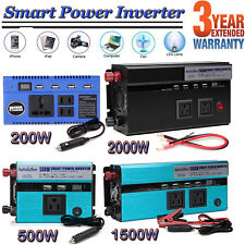 1500W 2000W 500W DC 12V AC 110V Car Power Inverter Electronic Charger Converter