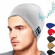 NEW Warm Beanie Hat Wireless Bluetooth Smart Cap Headset Headphone Speaker