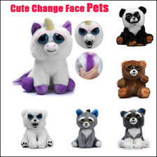 For Kids Feisty Animal Toy Soft Plush Stuffed Scary Face Doll With Attitudes