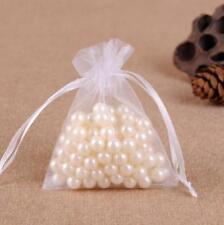 White Wholesale Candy Bags Pouches Organza Wedding Party Favor Mesh Bag Gift