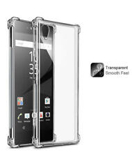Fast shipping For Nokia 2 / 3 / 5 / 6 / 8 Clear Corner Skin TPU Soft Back Case