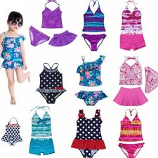 Girls Beach Bikini Swimming Costume Kids Bikini Swimwear Swimsuit Bathing set