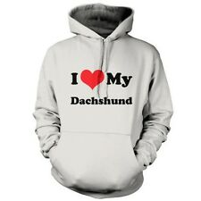 I Love My Dachshund - Unisex Hoodie / Hooded top - Dog - Puppy - Canine