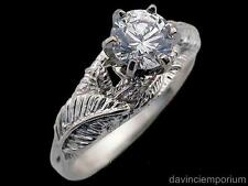 Nenya Galadriel's Elven Ring of Power 14k White Gold Lord of the Rings