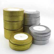 Silk Satin Ribbon 25 yards Wedding Party Festive Decor Craft Gifts WrappingN6T