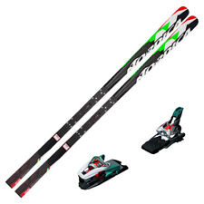 NORDICA Dobermann SG WC Race Skis w/ EDT Plate & Marker Bindings 212cm 0A500300K