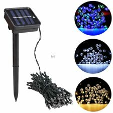 Christmas New 100 LED Outdoor Solar Powered String Light Garden Party Lamp