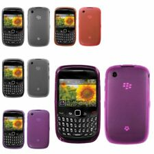 Rubberized Candy TPU Skin Case Cover For BlackBerry Curve 8520 8530 9300 9330