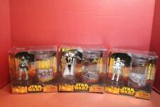 STAR WARS ROTS ACTION FIGURE/GLASS SET CHOICE GRIEVOUS BOBA FETT STORMTROOPER