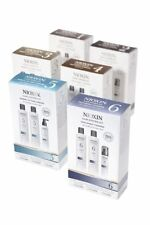 NIOXIN SYSTEM 1 2 3 4 5 6  HAIR LOSS STARTER KIT SHAMPOO CONDITIONER TREATMENT