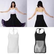 Women's Belly Dancing Latin Dancewear Transparent Blouse Dance Costumes Tops