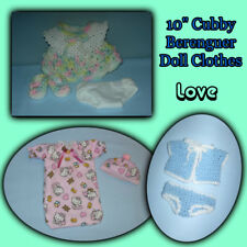 """10"""" Lots to Love BERENGUER Baby DOLL sold by the Crafty Grandmas"""