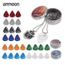 Guitar Picks Including Guitar Pick Necklace for Electric Acoustic Guitars L9G0