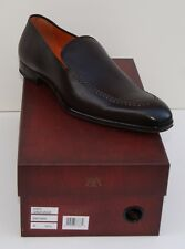 Mezlan Granada Slip-On Loafer Dress Leather Mens Shoes Brown Spain BRAND NEW
