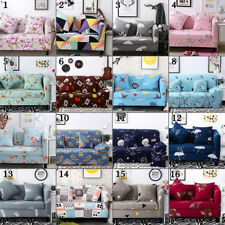 1 2 3 4 Seater Elastic L-shaped Slipcover Sofa Cover Couch Furniture Protector