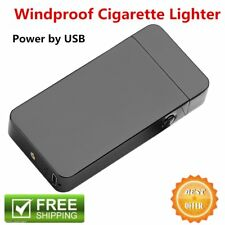 Windproof Electric Lighter Arc Metal Flameless Torch USB Rechargeble Lighter RO
