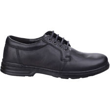 Hush Puppies Mens George Hanston Lace up Leather Formal Oxford Shoes