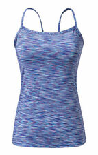 Womens Multi Colored Sleeveless Casual Slim Fitted Spaghetti Strap Tank Tops