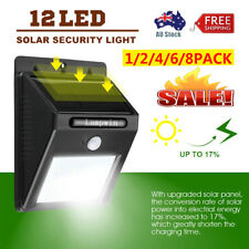 Solar Power Outdoor LED Garden Light Security Lamp Wall Light PIR Motion Sensor