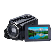 16x Digital zoom Camcorder Video DV Camera 48MP 4k LCD w/T G101 Wide-angle lens