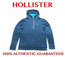 100% AUTHENTIC MENS HOLLISTER CONTRAST ICON T-SHIRT HOODIE HOODY **BARGAIN**