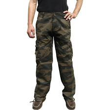 Mens Military-Style Camoflage Cargo Pants Special Hunthing and Fishing Low Stock