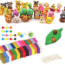 5Tools+32Colors Oven Bake Polymer Clay Block Modelling Sculpey Toys Set Dreamed