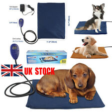 Pet Dog Cat Rabbit Safety Electric Heating Heater Heated Mat Pad Blanket Bed UK