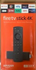 LOT of Amazon  Fire TV Stick 4K OR  2nd Gen with Alexa Voice Remote NEW SEALED