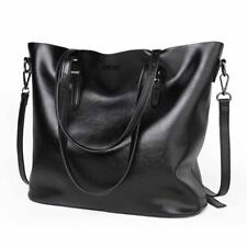Women Large Capacity Casual Pu Leather Brown Black Color Office Shoulder Bag