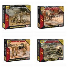 "Model Kits ""Soviet modern soldiers & light weapons, Cold war"" 1:72 Zvezda"