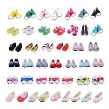 Shoes for 18 Inch American Girl Doll Shoes Flats Sneakers Clothes Dress Up Lot