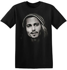 Johnny Depp T Shirt Movie Star Actor New Graphic Print Unisex Tee Shirts 3-A-062