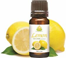 CROCON LEMON OIL 100% NATURAL PURE UNDILUTED UNCUT ESSENTIAL OILS 5ML TO 250ML