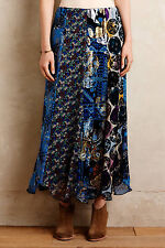 NWT - ANTHROPOLOGIE - ANNA SUI - Water & Wildflower Skirt sz 2 or 4 (Multi) $440