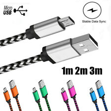Micro USB Cable Data Sync Fast Charging Cable 1m 2m 3m For Samsung Android Phone