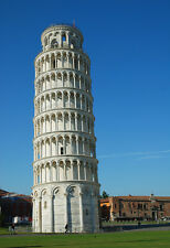Leaning Tower Of Pisa In Italy - Architecture Poster Art - Landmark Photo Print