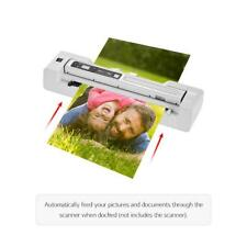 1200DPI Handheld Auto Feed Scanner Portable HandyScan A4 Photo Document LCD V1Y5