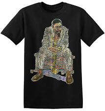Eric Dolphy Graphic Print New Black Vintage Jazz Music Band Tee Shirts 4-A-015
