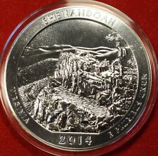 2014 5 oz. Silver America The Beautiful **Shenandoah** Virginia Five Ounce Coin