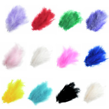 24 x Marabou Feathers By Trimits Plume Decoration Craft