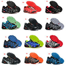 Men's Sports Running Hiking Casual Shoes Salomon Speedcross 3 Athletic Sneakers