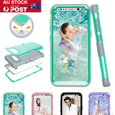 For Samsung Galaxy S8 Hybrid Rugged Heavy Duty Shockproof Rubber Hard Case Cover