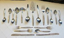 1960's National Stainless N.S.Co. Japan Vintage Monarch Pattern~Your Choice